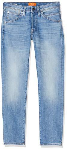 JACK & JONES Herren Slim Fit Jeans Glenn Fox AM 967 50SPS 3334Blue Denim