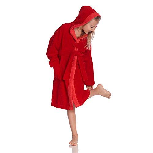 Vossen badjas voor meisjes Bixie M, effen