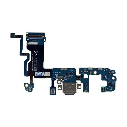 OnlyTech - Conector de Carga Compatible con Samsung Galaxy S9 Plus G965F - Pieza de Repuesto Interna Que Incluye Conector USB, micrófono y Antena