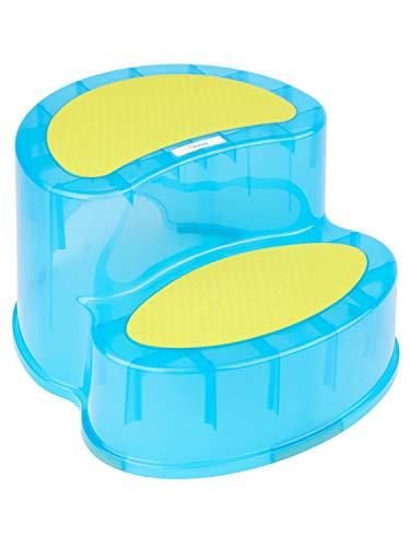 BIECO 79000112 - Siège/Sortie deux étapes chacune d'environ 10 cm, environ 39 x 34 x 20 cm, bleu