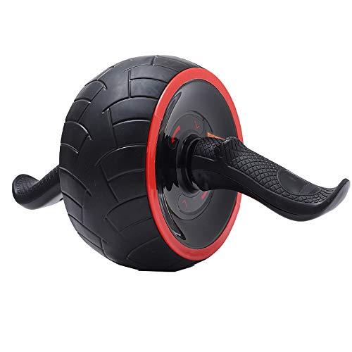 NA Buikspier fitness training apparaat roller automatische rebound buik ronde mute enkele wiel band huid buikwiel