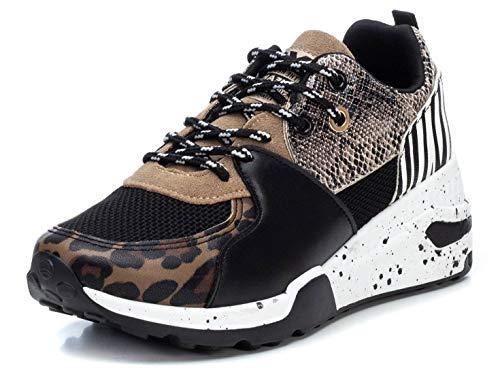 XTI 44437, Zapatillas Mujer, Taupe, 40 EU