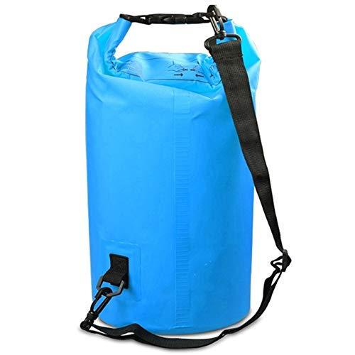 Taoke Esterna Impermeabile Doppio della Spalla del Dry Sack Barrel Bag, capacità: 20L (Nero) 8bayfa (Color : Sky Blue)