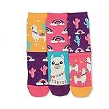 United Oddsocks - Damen Socken - Wooly - Lama - Gr. 39-42
