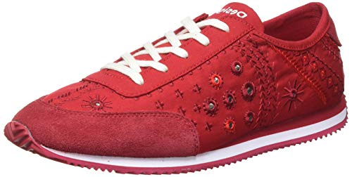 Desigual Shoes_Royal_Exotic, Sneakers Mujer, Red Red, 37 EU