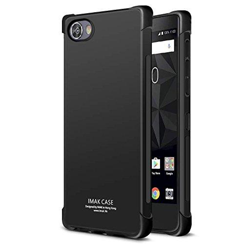 Blackberry Motion Coque + Protecteur d'Ecran Anti-Explosion, Lisse Gel Silicone [Coins Renforcés] [Absorption des Chocs] [Côté Antidérapant] Souple TPU Protection Complète Housse