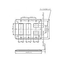パナソニック(Panasonic)ワイド21コンP簡易耐火8コ用3+3+2 WTF7708G