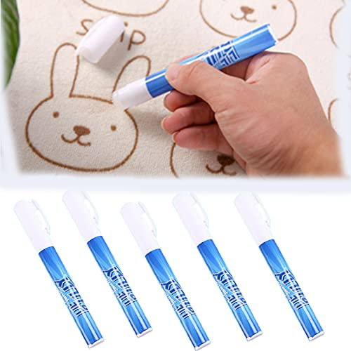 kkkl Portable Decontamination Pen, Stain Remover Clothes Erase Scouring Pen, Emergency Decontamination Cleaning Stick Clothing Cleaner 5 PCS Family Pack