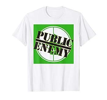 Public Enemy Green Logo T-Shirt