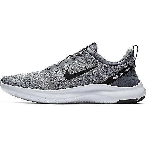 Nike Men's Flex Experience Run 8 Shoe, Cool Grey/Black-Reflective Silver-White, 11.5 Regular US