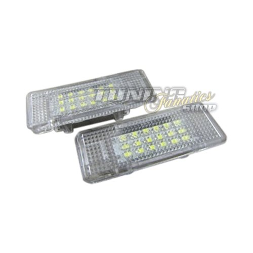 2 x 18 SMD LED Fußraumbeleuchtung Türbeleuchtung Plug&Play Set