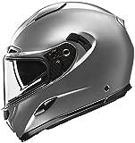 Momo Design - Casco de moto integral Hornet Titanium Frost, talla M
