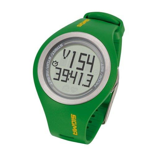 Sigma PC 22.13 - Pulsómetro para hombre, color verde ⭐