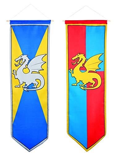 Boland BOL44009 Dekoration zum Aufhängen, mittelalterlicher Ritter