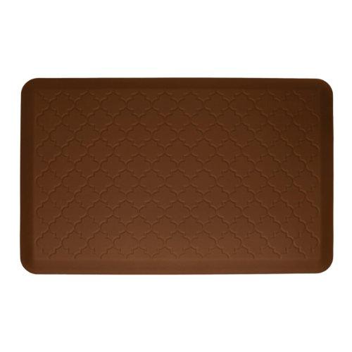 WellnessMats MT32WMRBRN Floor mat, 36 Inch by 24 Inch, Brown