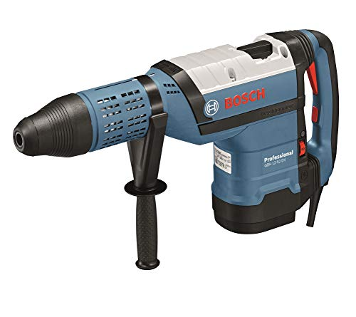 Bosch Professional GBH 12-52 DV - Martillo perforador combinado (19 J, Ø máx. hormigón 52 mm, SDS max, Vibration control, en maletín)