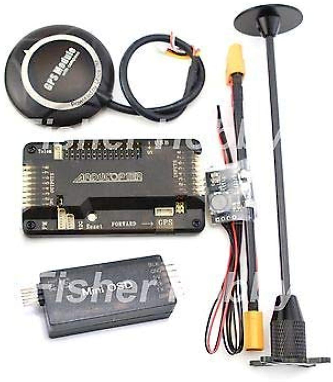 FidgetGear Sidepin APM2.6 +Neo 7M GPS w  Foldable Stand +Power Module+Minim OSD