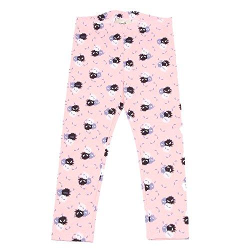 Fendi 9330R Leggings Bimba MOSTRI Splash rosa Pantalone Pant Kid [12 Years]