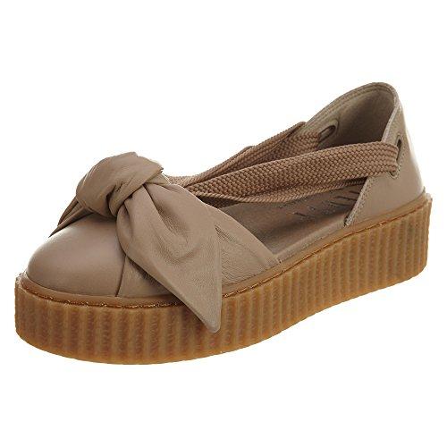 PUMA Women's Fenty x Bow Creeper Sandals, Natural, 7.5 B(M) US