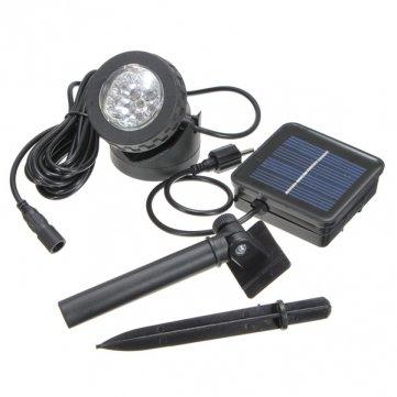 De imperméable à l'eau IP68 Solaire 6 Spot LED spot Lampe Piscine
