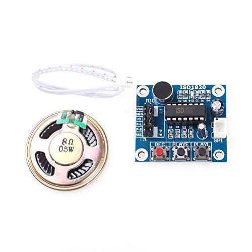 ANGEEK ISD1820 Aufnahmemodul Sprachmodul Sound Voice Recorder Arduino mit Lautsprecher