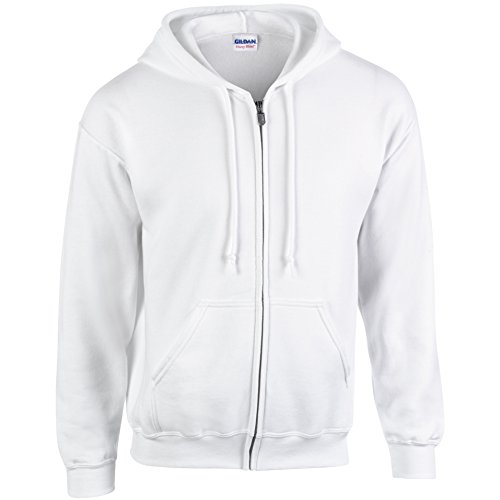 Gildan - Sweat à capuche White XX-Large