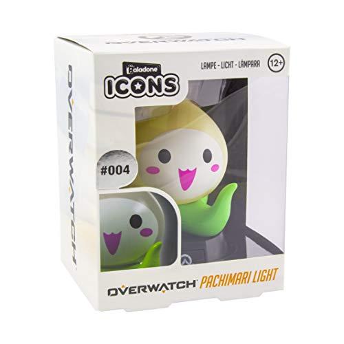 Paladone Overwatch Pachimari Icon Light | Lámpara coleccionable Lucio | Ideal para dormitorios de niños, oficina y hogar | Pop Culture Gaming Merchandise, Crema