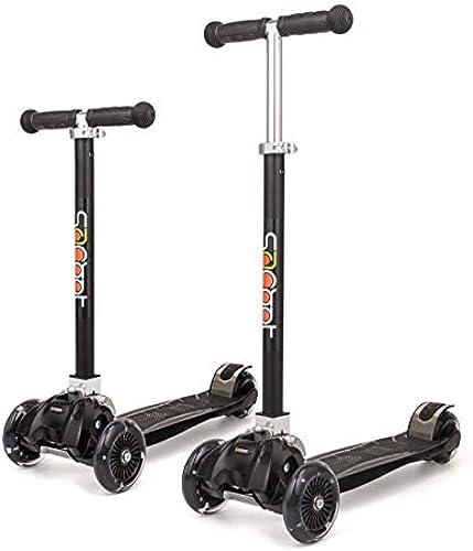 F.RUI Scooter YA20 Faltbar Leichtgewicht H nverstellbarer Roller Kinderroller Tretroller für Jungen und mädchen für Kinder und Erwachsene