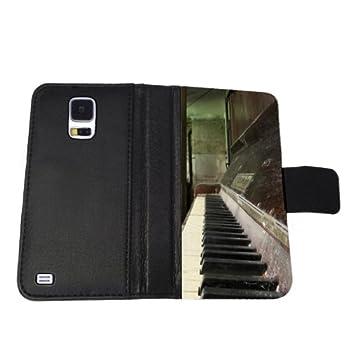 Old Piano - Samsung Galaxy S5 Wallet Case