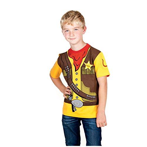 Camiseta Infantil Sheriff Western Cowboy Kid's T-Shirt Uniform 104