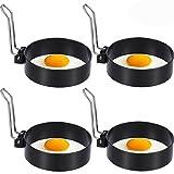 Anillos de Huevo,BETOY 4 Piezas Anillos de Huevo Antiadherentes Huevos con...