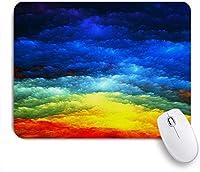 EILANNAマウスパッド 銀河のテーマ星雲宇宙魔法のファンタジー宇宙雲 ゲーミング オフィス最適 おしゃれ 防水 耐久性が良い 滑り止めゴム底 ゲーミングなど適用 用ノートブックコンピュータマウスマット