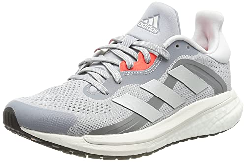 adidas Solar Glide 4 ST W, Zapatillas de Running Mujer, PLAHAL/Balcri/Rojsol, 36 EU