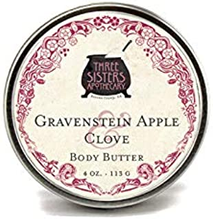 Three Sisters Apothecary Body Butter Gravenstein Apple & Clove