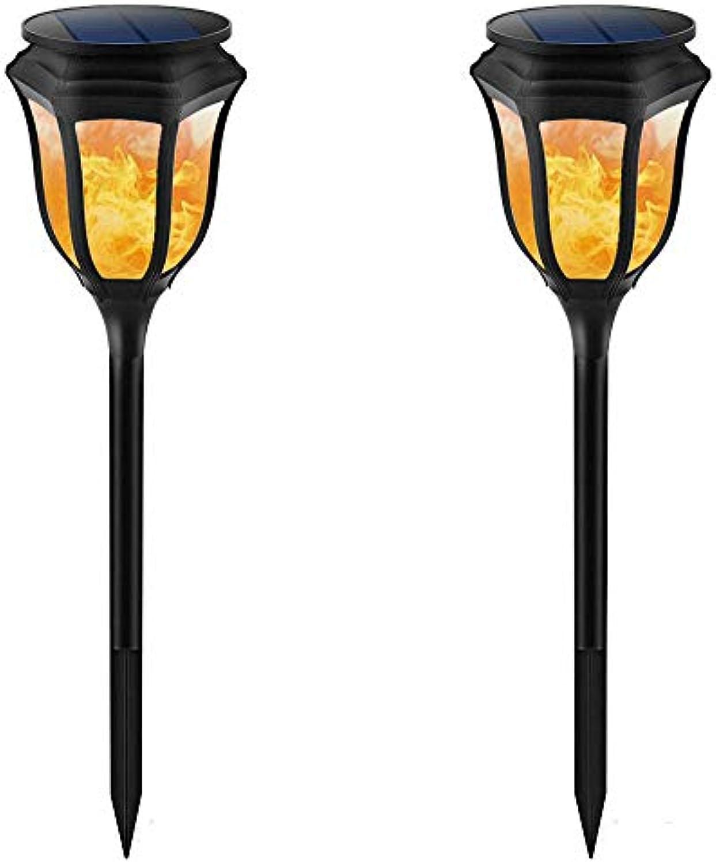 Solar Fackel Garten Licht, flackernde Flammenfackel leuchtet wasserdicht 98LED für Garten Patio Deck Yard Einfahrt, Weihnachten Thanksgiving New Year Dekoration Beleuchtung1PACK