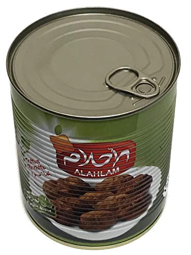 Alahlam Canned Whole Truffle Brunette (Brown) Ready Meal 28.22oz, 800g كمأة سمراء