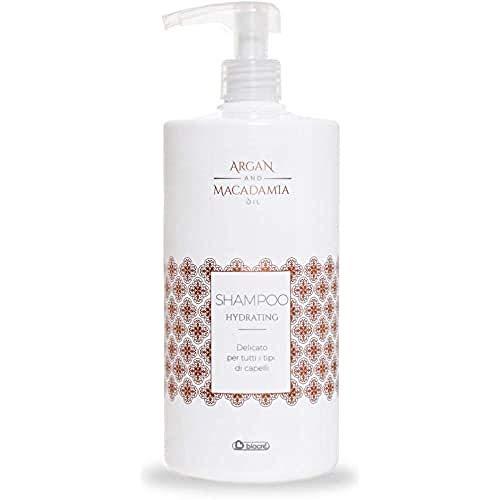 biacrè Argan and Macadamia Oil Hydrating Shampoo, 1000 ml