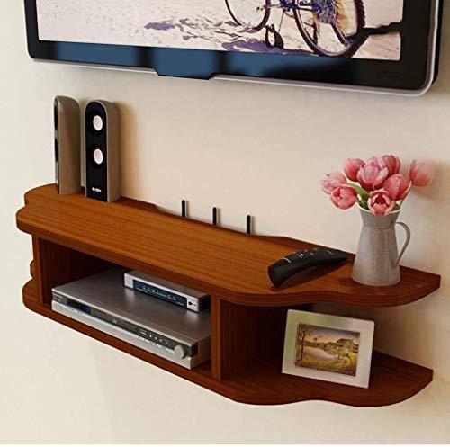 CSD TV Montaje TV Consola Consola Floating TV Stand con Almacenamiento Abierto Media CUENTION Console Centro DE Entretenimiento COMPONENTE COMPONENTE Gabinete de TV (Color : D, Size : 80X22X15CM)