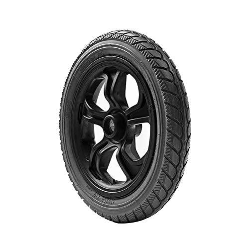 Caster Neumático Negro de 12 Pulgadas, Accesorios para sillas de Ruedas eléctricas, diámetro del neumático Trasero 30 CM