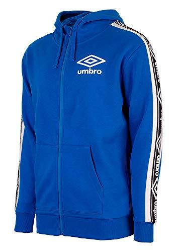 Umbro Unisex Hoodie Sweatshirt, blau, XL