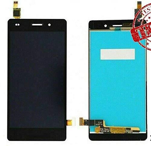 ULDAN - Pantalla táctil de Cristal + Pantalla LCD ensamblada para Huawei Ascend P8 Lite ALE-L21 Negro