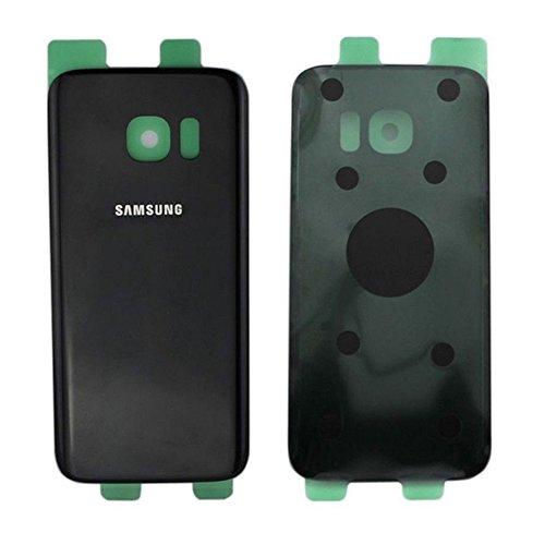 Todotumovil Tapa Trasera de bateria Cristal Trasero para Samsung Galaxy S6 Edge Plus Negro