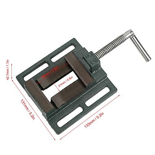 Prensa de taladrar tornillo de banco, tornillo de banco de bloqueo de alta precisión para procesamiento de metales para fresadora
