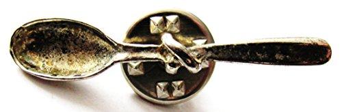 Maggi - Löffel mit Knoten - Pin 37 x 7 mm