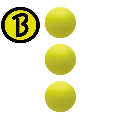 3 Stück Kickerball original Bärenherz Magic gelb Profi- Turnierqualität