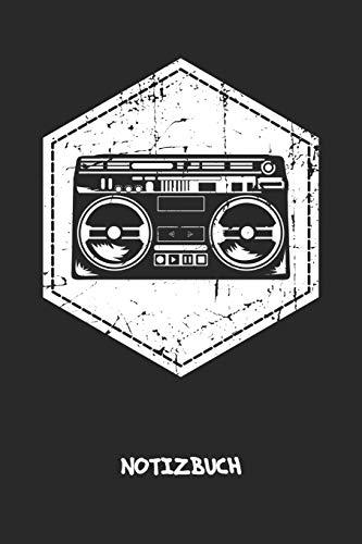 NOTIZBUCH: Notebook für Sänger Musiker & Musik Liebhaber - altmodisches Geschenk für Freundin und Freund | Notizheft in A5 (6x9 Inch) | Liniert | 120 Seiten | Geburtstagsgeschenk für Männer und Frauen