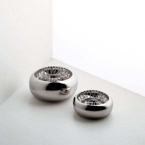 Alessi 7690/16 Aschenbecher - Spirale - Edelstahl - Ø 16 cm - Höhe 7 cm
