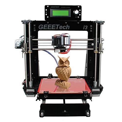 GEEETECH 3D-Drucker Set Pro B Set Stampante 3D Prusa I3 Acryl