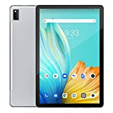 Blackview Tab 10 Android Tablet 10.1 inch, 4GB+64GB Android 11 MTK8768 Octa Core Cortex-A53 2.0GHz, Support Dual SIM & WiFi & Bluetooth & TF Card 4G Phone Call Tablet PC (Silver)