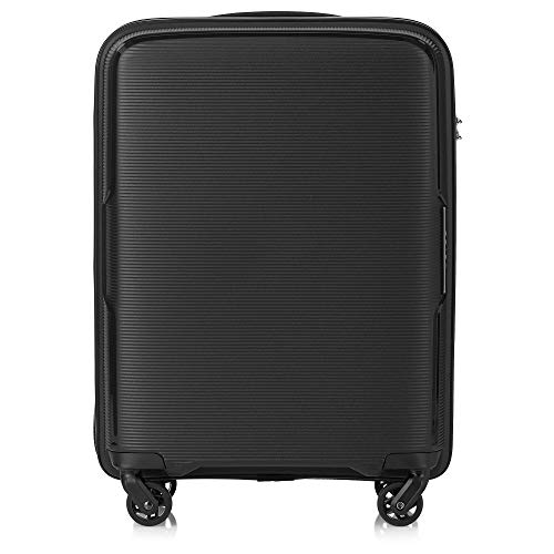Tripp Black Escape Cabin 4 Wheel Suitcase